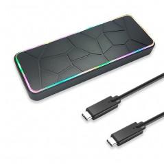 RGB NVMe M.2 SSD 외장케이스